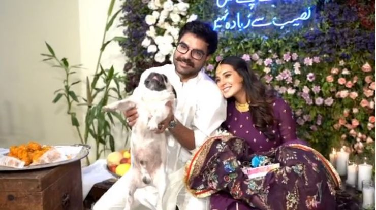 Iqra Aziz and Yasir Hussain celebrate their Baby Shower Function with  Family - Showbiz and Dramas Reviews